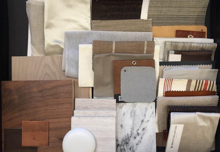 Material Board for Interior Design