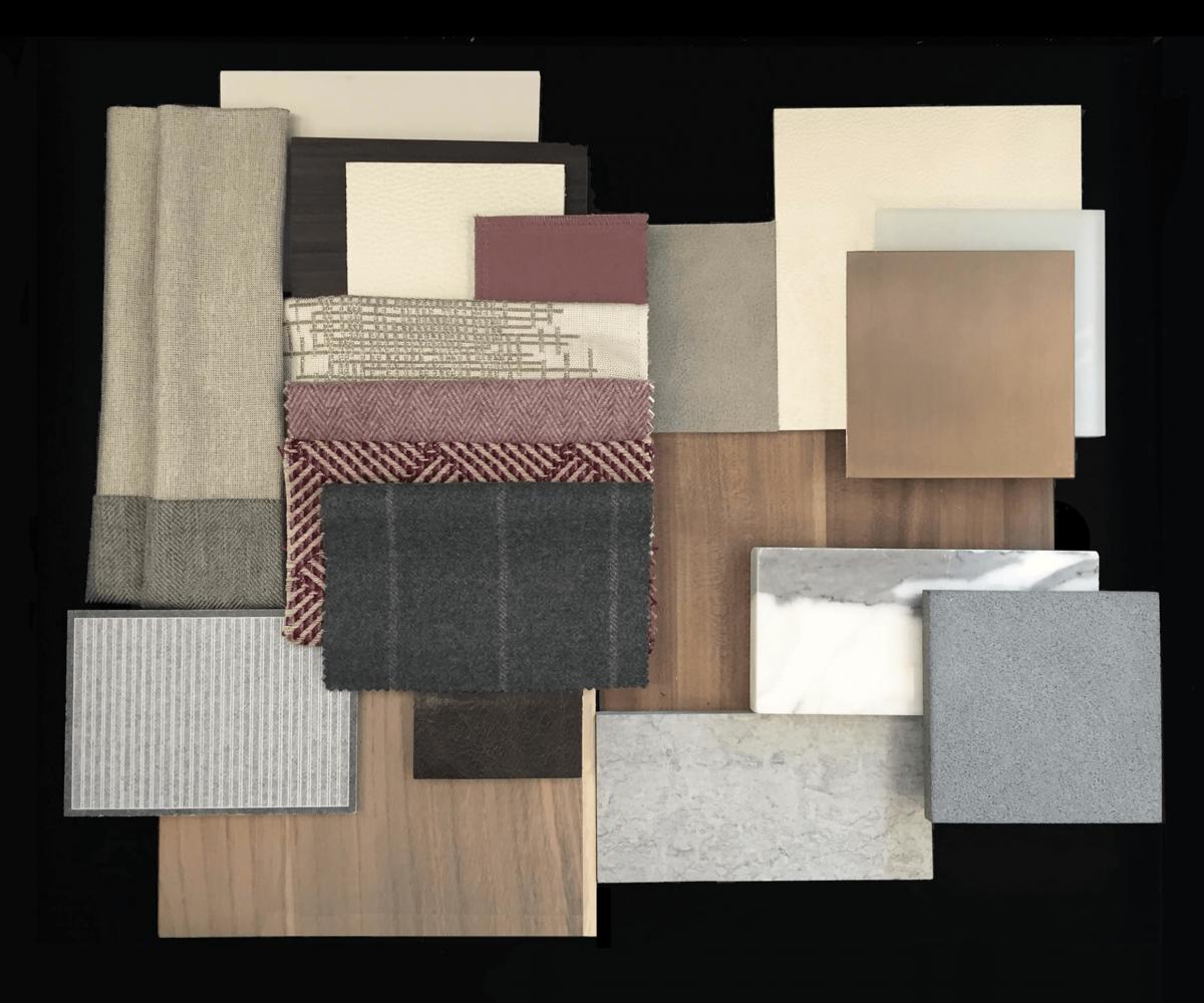 design board texture materials
