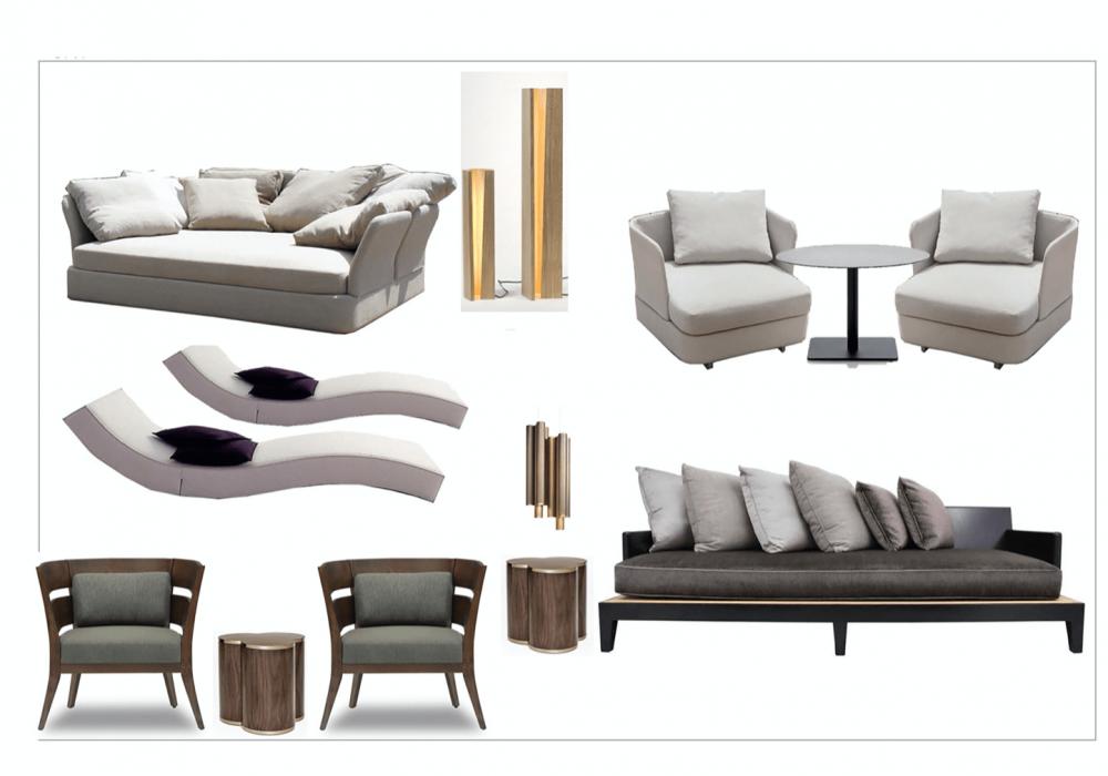 design board furniture hotel