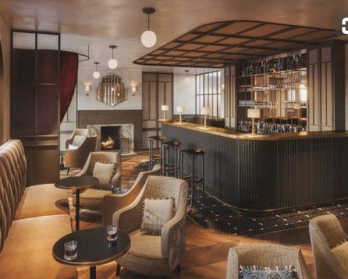 Sander Hotel Bar - Clean elegant lines