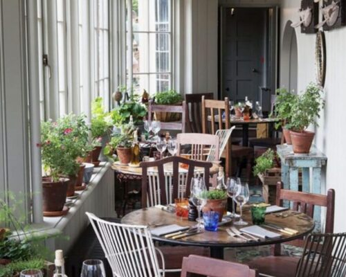 The Pig Restaurant - Bringing the outside in