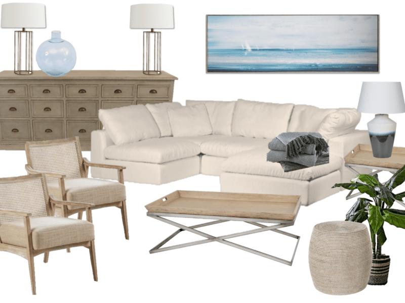 Dorset interior design beach house
