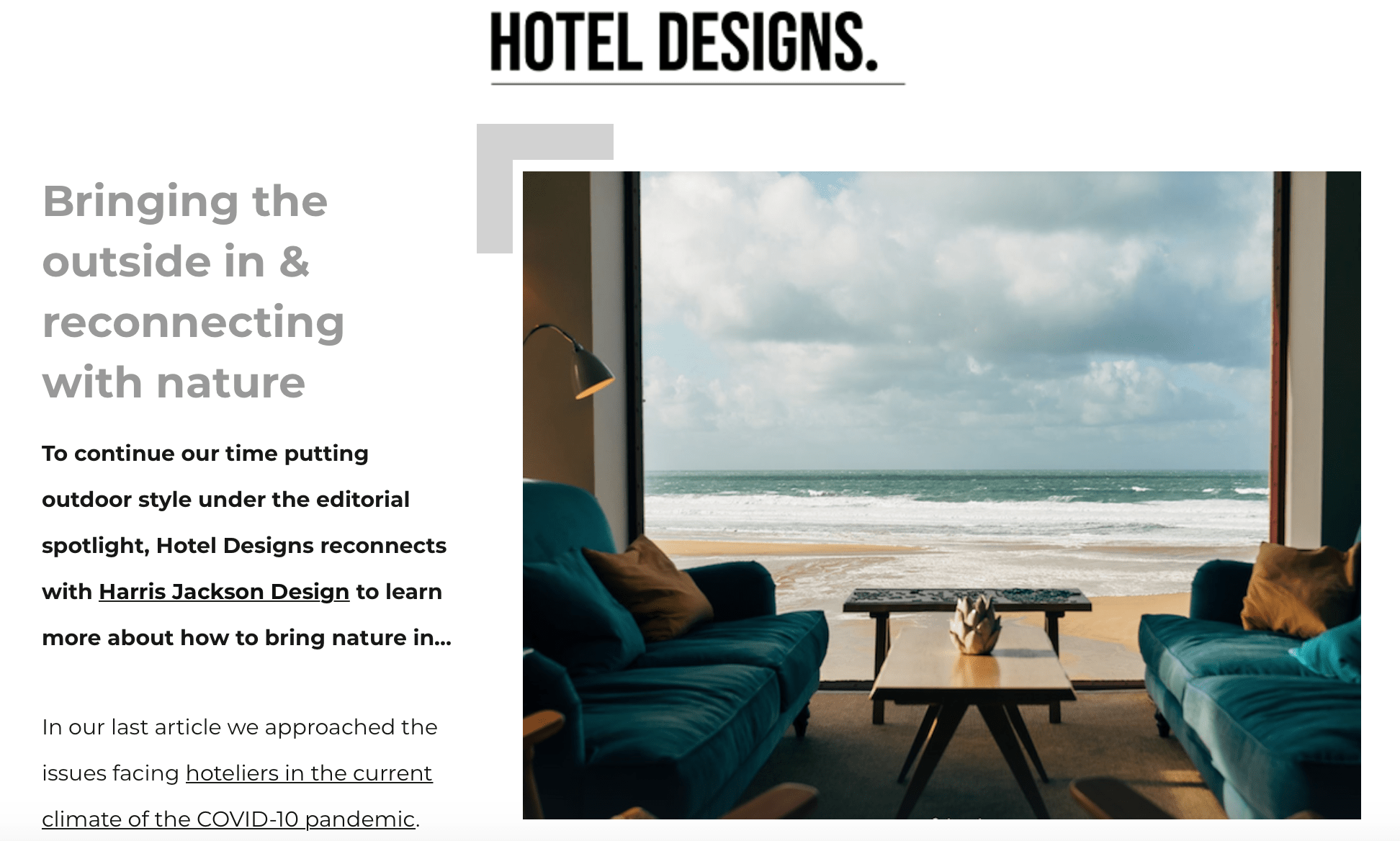 hotel designs front cover