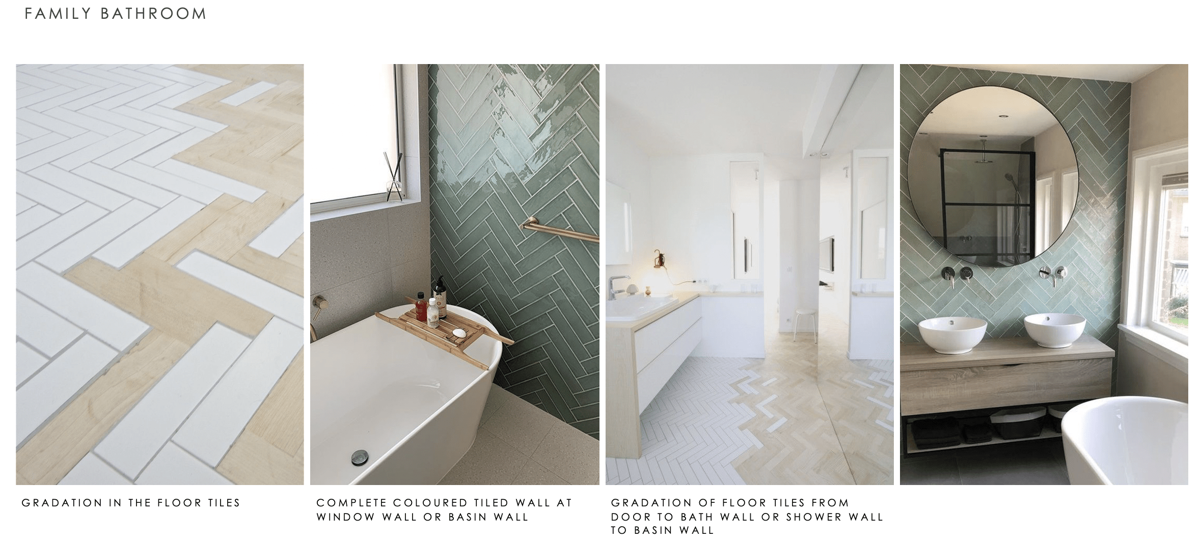 family bathroom concept images