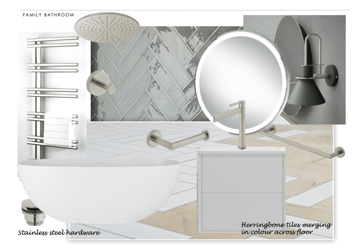 family bathroom mudeford design