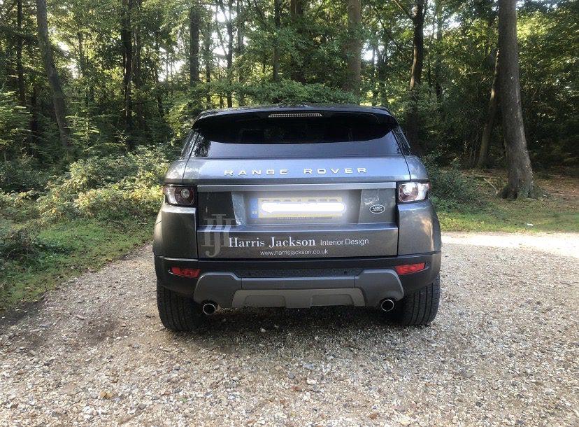 Range Rover Harris Jackson car