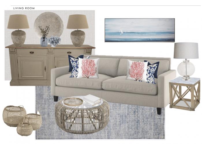 lounge scheme show home