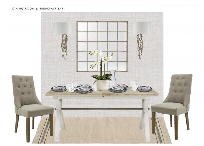 dining room scheme